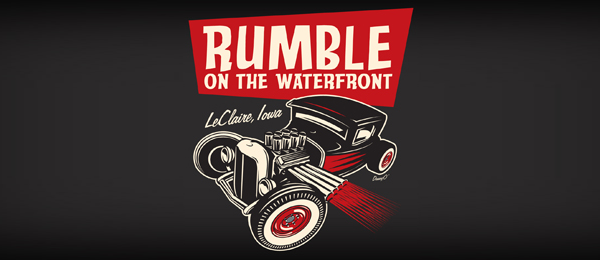 black car logo rumble waterfront 16