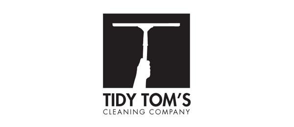 black white logo brush