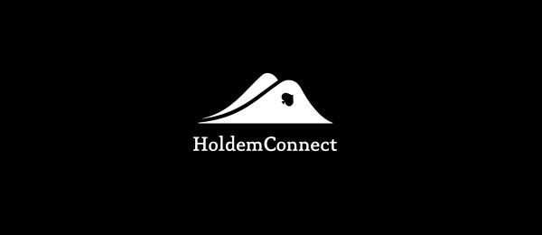 black white logo hills