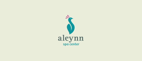 blue bird logo spa