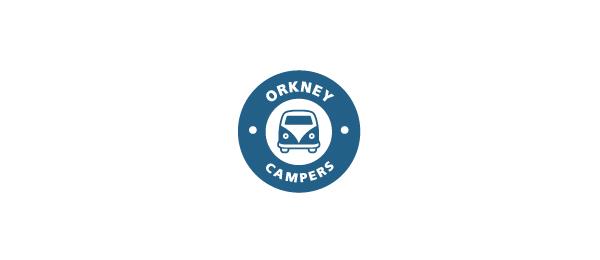 blue bus logo orkney campers 8