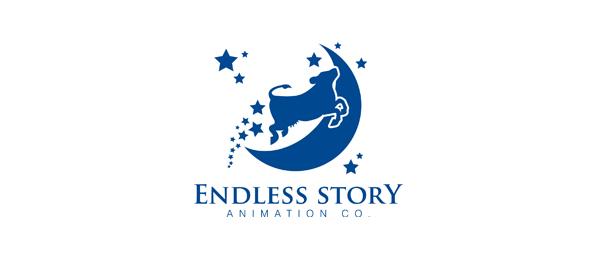 blue moon logo endless story