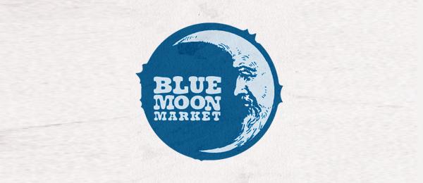 blue moon market logo