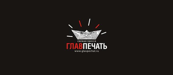 boat newspaper logo glavpechat