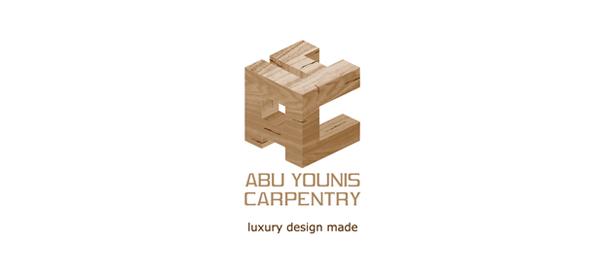 brown 3d cube logo