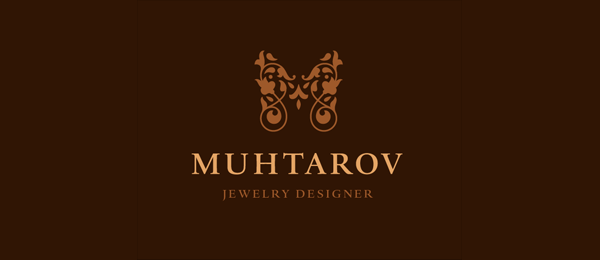 brown butterfly logo jewelry 35