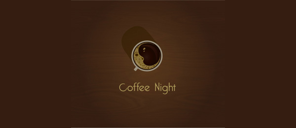 brown coffee night logo 2