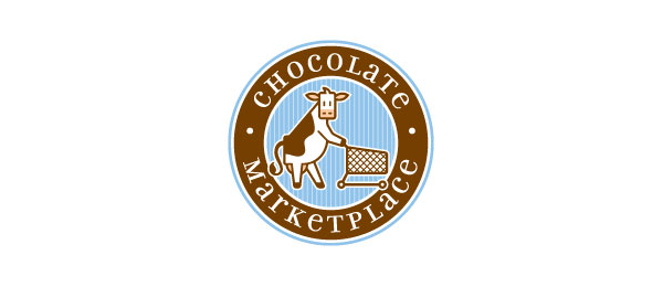 brown cow logo chocolate marketplace 10