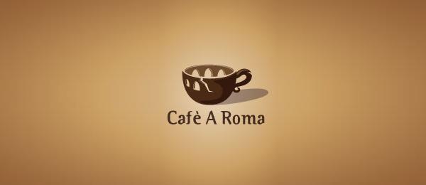 brown logo cafe a roma 12