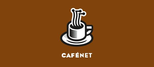 brown logo cafe net 16