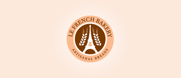 brown logo french bakery 40