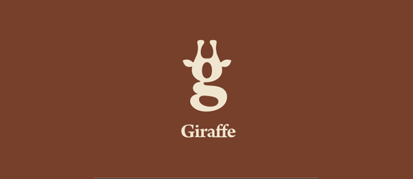 brown logo giraffe 4