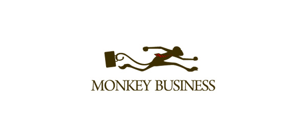 brown logo monkey business 42