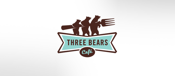 brown logo three bears cafe 31