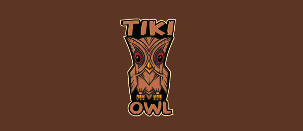 brown logo tiki owl 5