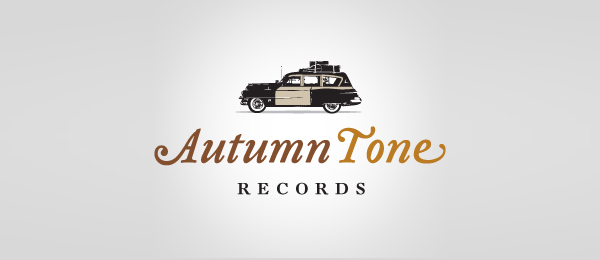 car logo autumn tone records 7