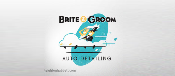 car logo cloud wedding 2
