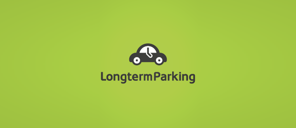 car logo long term parking 48