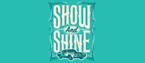 car show logo 12