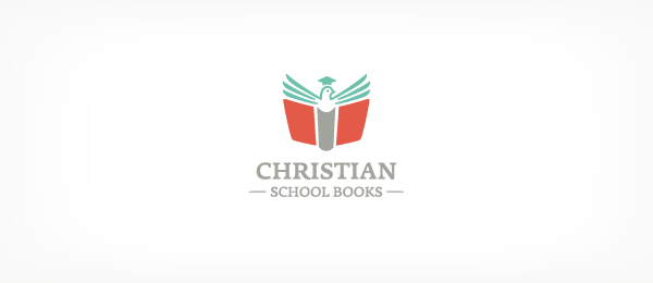christian school books logo 48