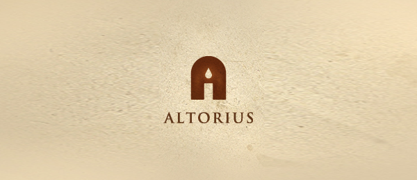 church logo candle altorius 19