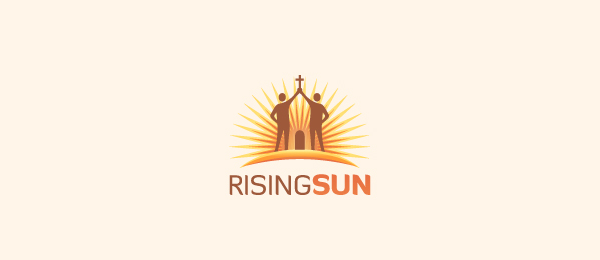 church logo rising sun 35
