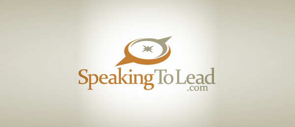 compass logo speaking to lead