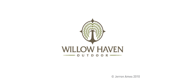 compass logo willow haven outdoor