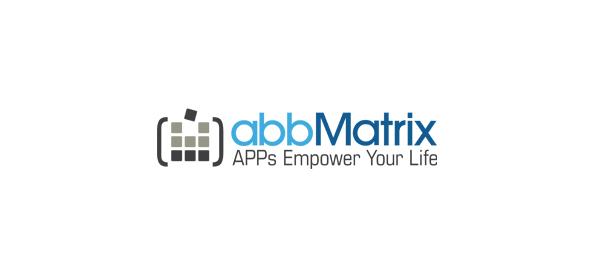 computer logo pixel abbmatrix 48