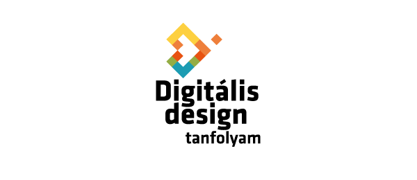 computer logo pixel design 37