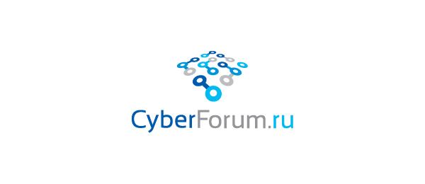 cyber forum computer logo 40