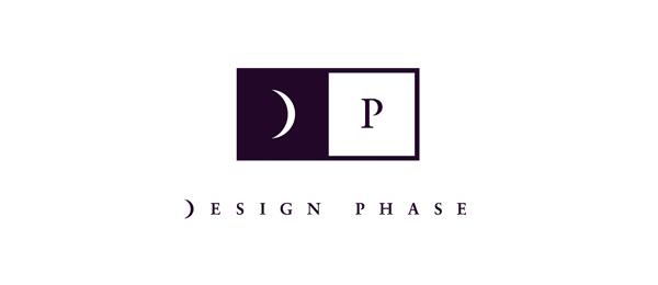 design phase moon logo