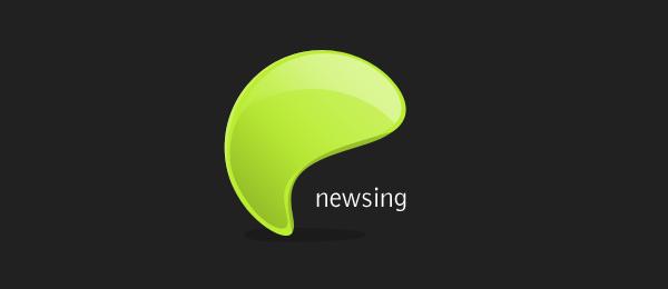 enewsing logo design