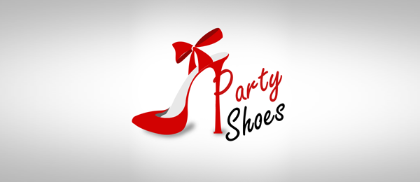 girl shoe logo party shoes