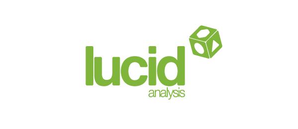 green 3d logo lucid analysis