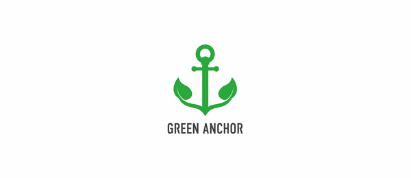 green anchor logo
