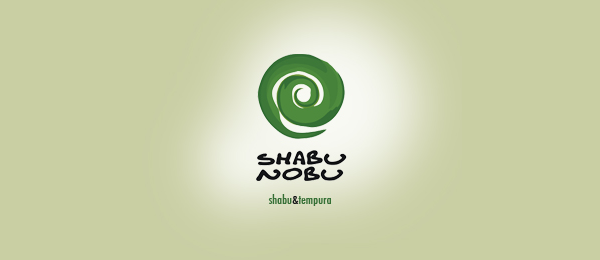 green sushi logo shabu nobu