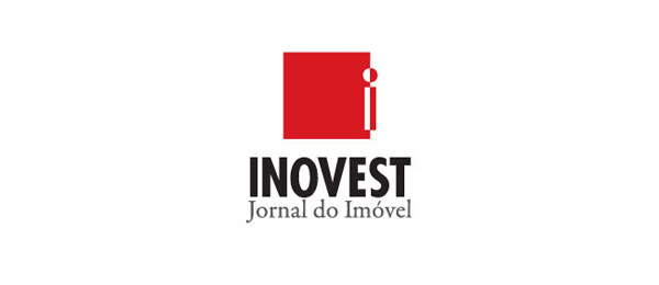 inovest newspaper logo design