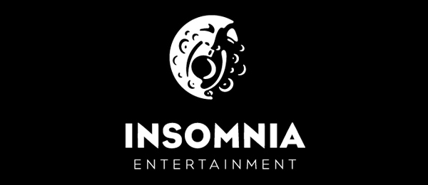 insomnia entertainment moon logo