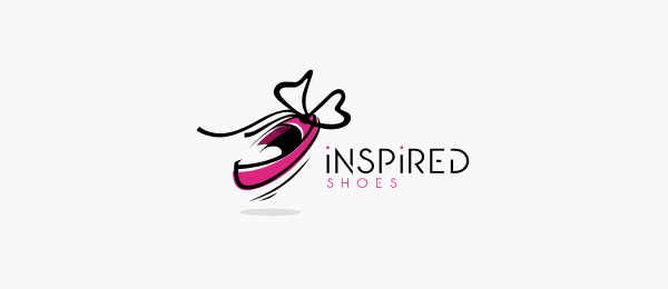 inspired shoes logo design