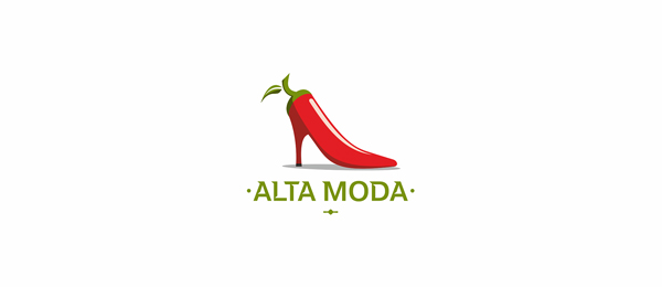 italian shoes logo alta moda