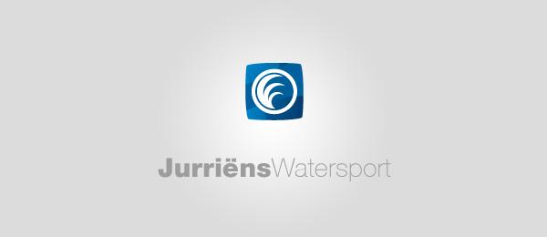 jurriens watersport spiral logo