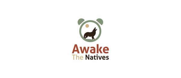moon logo awake the natives