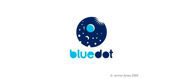 moon logo bludot