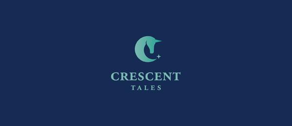 moon logo crescent tales