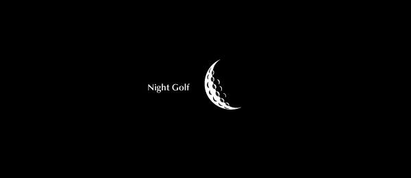 moon logo night golf