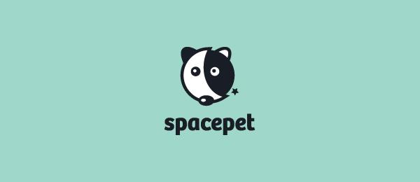 moon logo space pet