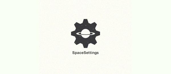 moon logo space settings