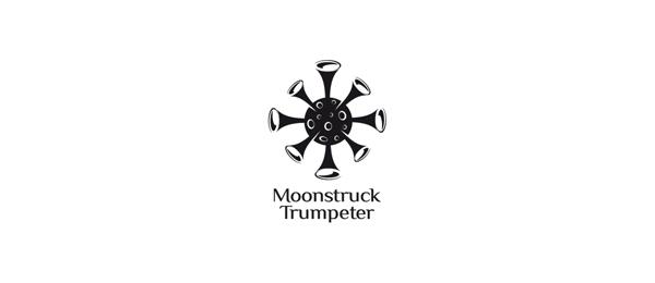 moon struck trumpeter logo