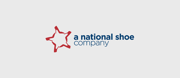 national shoe logo